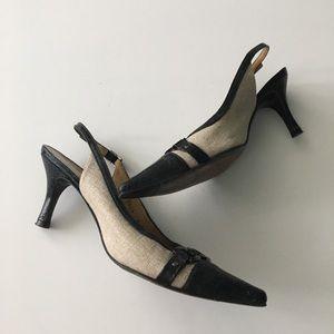 """Stuart Weitzman Shoes - Stuart Weitzman 2"""" Kitten Heels Singleback Pumps"""